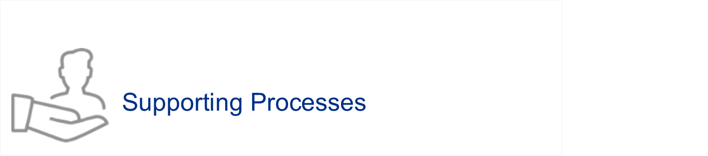 Supporting Processes